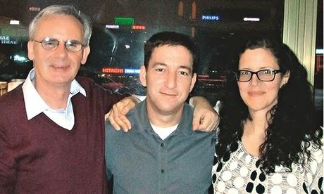 Ewen MacAskill, Glenn Greenwald et Laura Poitras