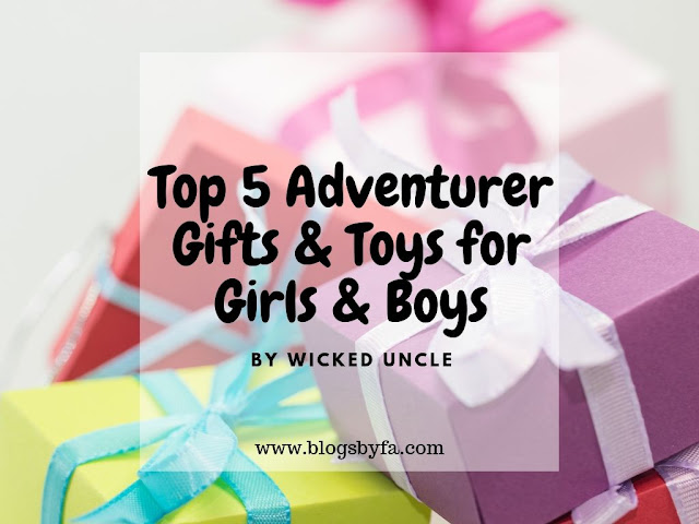 Top 5 Adventurer Gifts & Toys for Girls and Boys