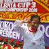 Syifa Fauziah Ramadhani siswi SDN 2 Imbanagara raya Juara 1 Tingkat Nasional Taekwondo