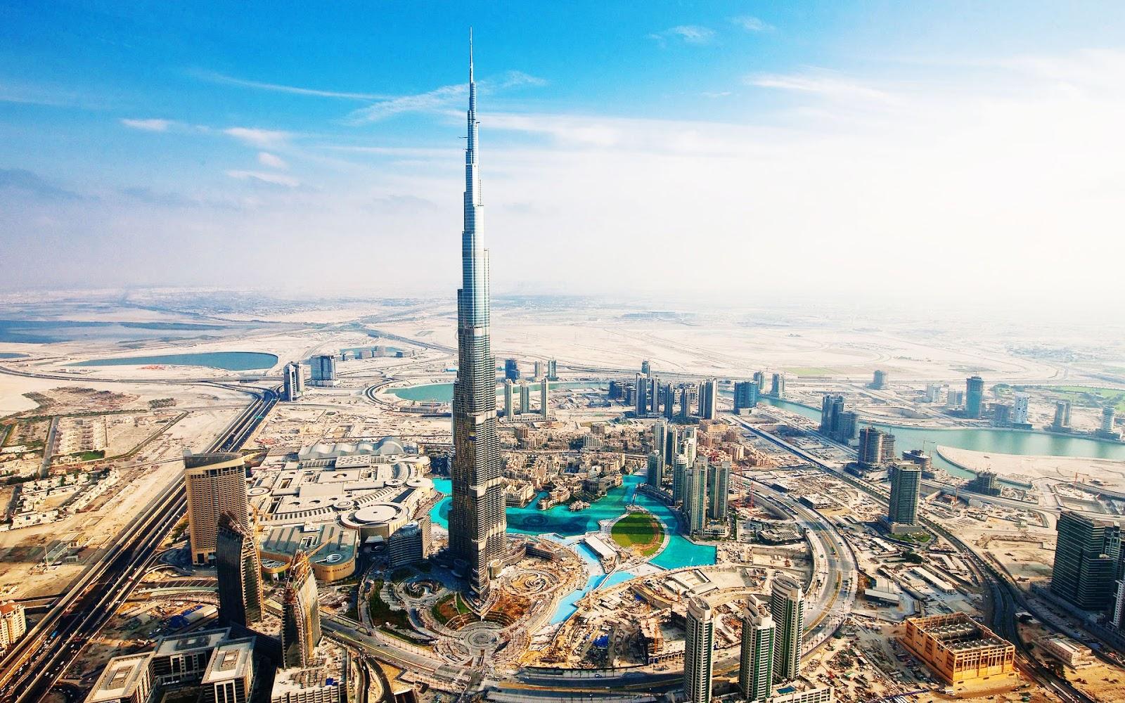 Wallpapers* Burj Khalifa aka Burj Dubai ...