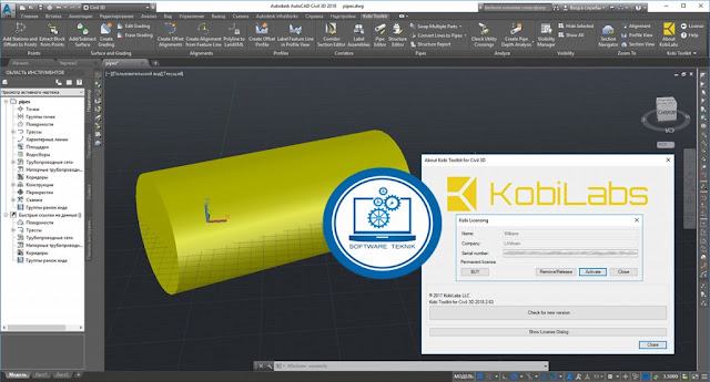Kobi Toolkit Civil 3D
