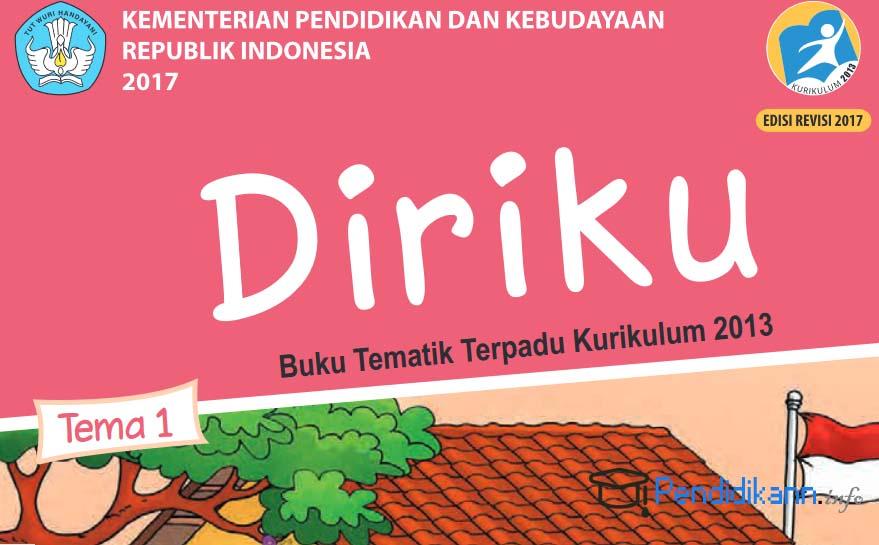 Buku Paket Tematik Diriku Kelas 1 SD Kurikulum 2013