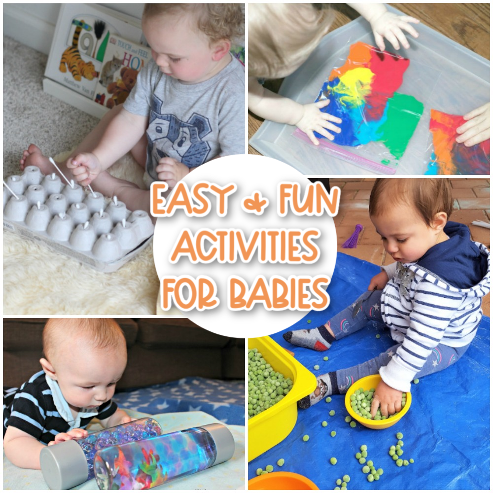Easy and fun activities for babies