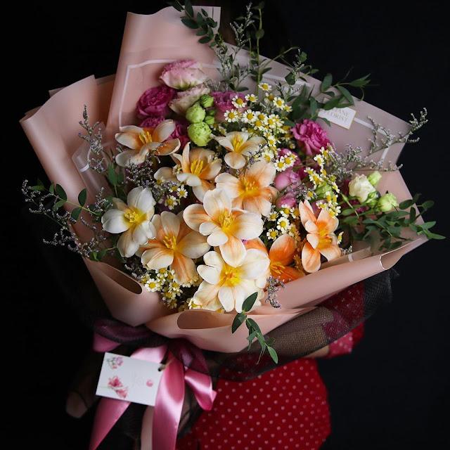 Bisnis Rangkaian Bunga
