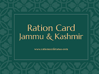 JKEPDS Jammu & Kashmir Food and Civil supplies Ration card List 2020