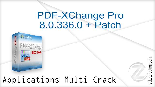 PDF-XChange Pro 8.0.336.0 + Patch