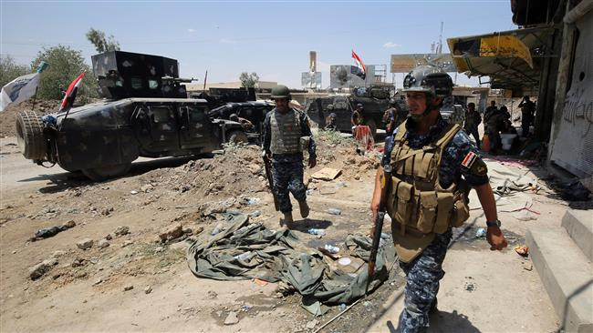 Iraqi forces progress in Daesh-held Mosul Old City: Commander of Federal Police Forces Lieutenant General Shaker Jawdat