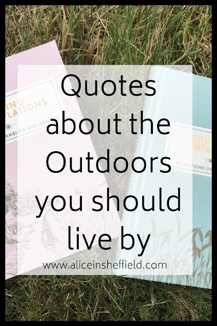 Outdoor Quotes Books