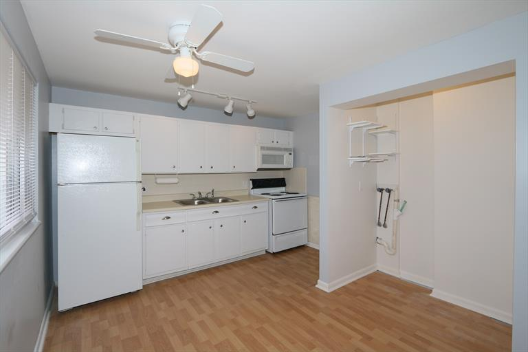 After kitchen and laundry area