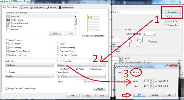 Bagaimana Cara Print Kertas F4 Agar Tidak Terpotong