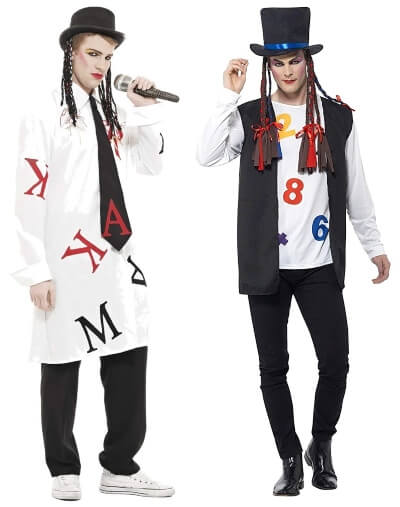 Two Boy George Outfits