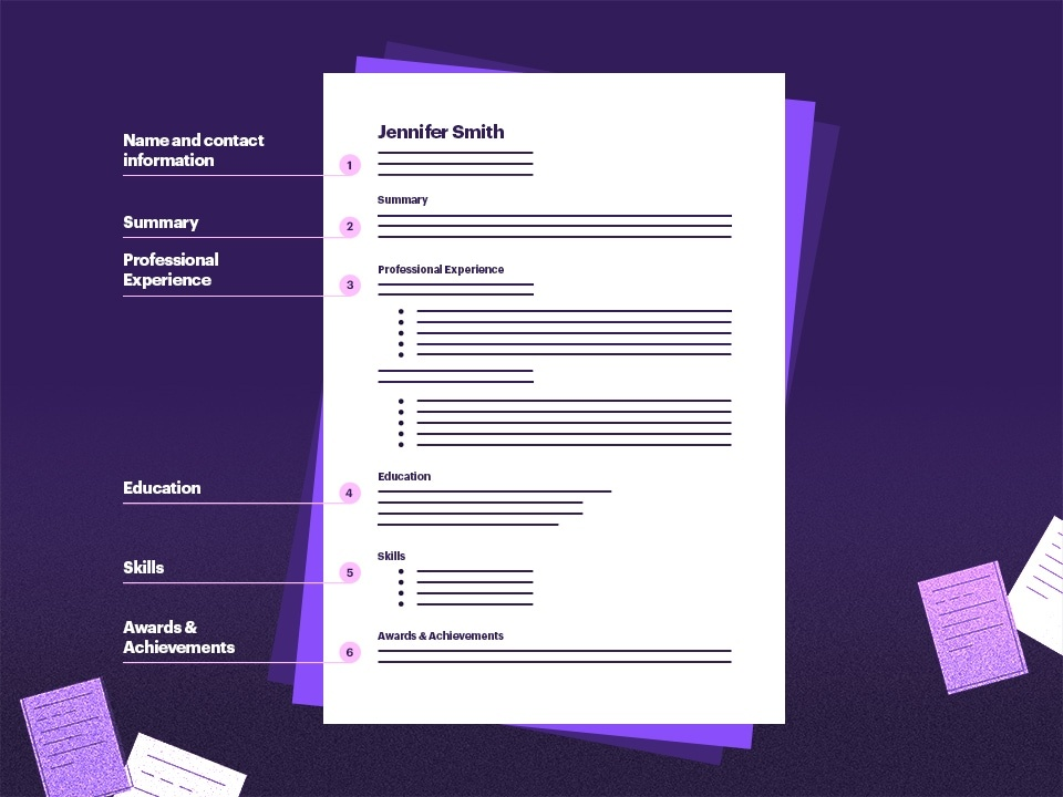 Download Best and Simple Resume Format
