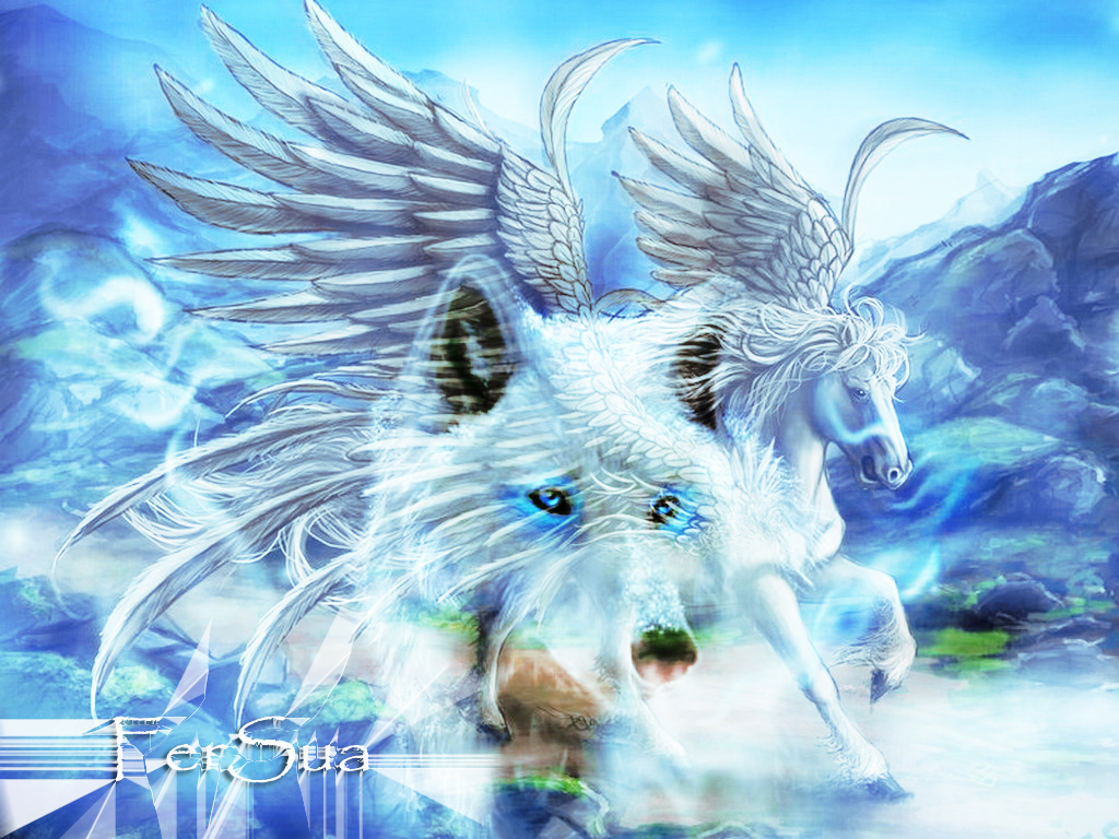 Saint Seiya 3d Live Wallpaper Psychic Jade 079 806 0700 Pegasus In Full Flight Shaking