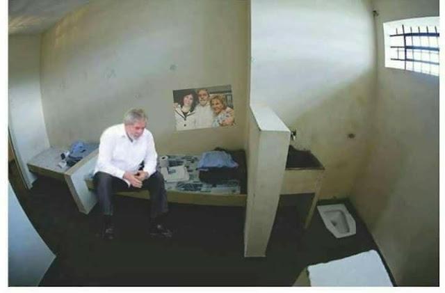 Esta es la celda súper lujosa donde tiene secuestrado a Lula (+Foto filtrada)