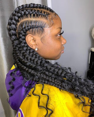 Looking for new cornrow styles to revamp your hair game this season 22+ Latest Bohemian Feed In Braids Hairstyles Ponytails To Copy In 2020