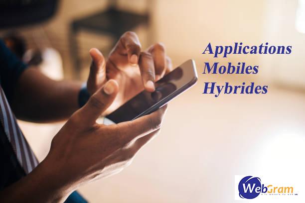 Applications Mobiles Hybrides, WEBGRAM, meilleure entreprise / société / agence  informatique basée à Dakar-Sénégal, leader en Afrique, ingénierie logicielle, développement de logiciels, systèmes informatiques, systèmes d'informations, développement d'applications web et mobiles