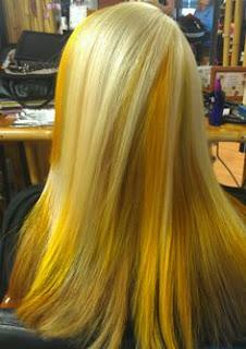 Sarı saç