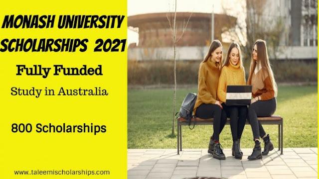 Fully Funded Monash University Scholarships 2021 Australia