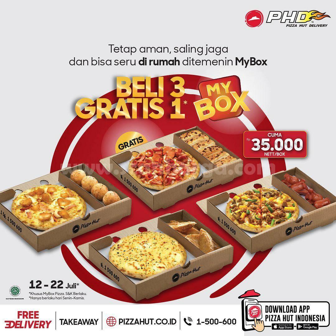 PHD Promo Beli 3 MYBOX GRATIS 1 MYBOX harga CUMA Rp. 35.000 nett/Box