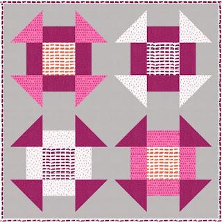 Quilt Inspiration: Free pattern day! Shoo Fly and Churn Dash quilts : churn dash quilt block pattern - Adamdwight.com