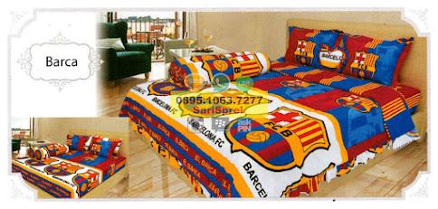 Sprei Bola Barca Barcelona