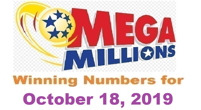 Mega Millions Winning Numbers for Friday, October 18, 2019