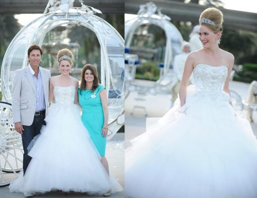 Disney Fairy Tale ; Cinderella Ballroom Gowns | wedding trend