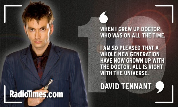Birthday Quotes For Doctors: Ten Years Of New Who: Happy Birthday Messages From The Cast