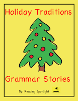 Grades 4-8 enjoy learning about the origins of holiday traditions while reviewing grammar skills.