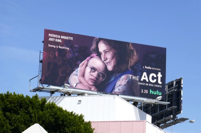 The Act season 1 billboard