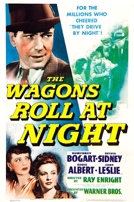 The Wagons Roll at Night Poster