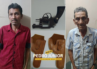 Dupla é presa em Barra de Santa Rosa acusada de homicídio na PB