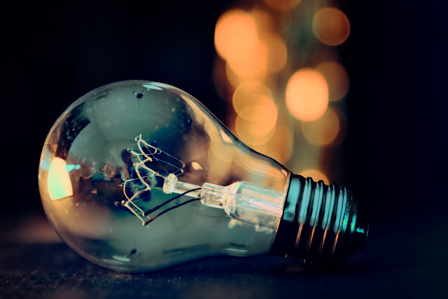 Lightbulb and Bokeh Lights