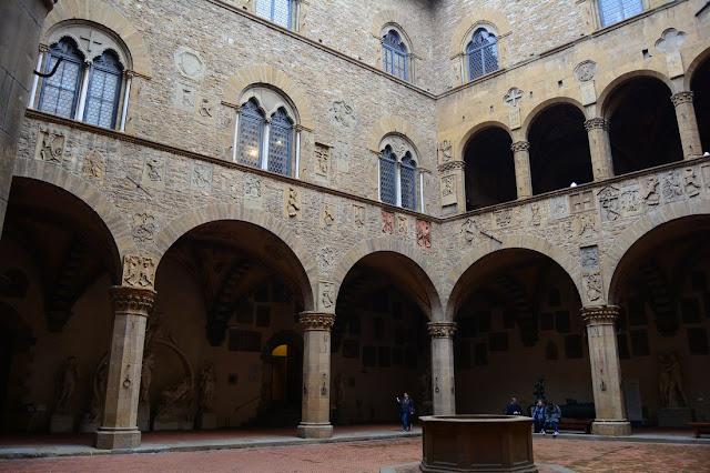 Musée du Bargello - cour intérieure