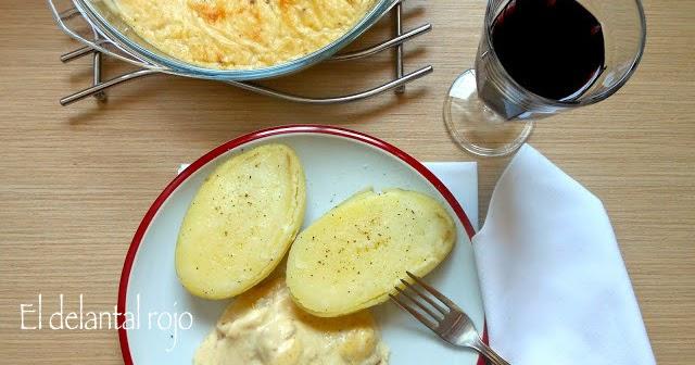 195 filetes de merluza en salsa mornay el delantal rojo - Bechamel con nata para cocinar ...
