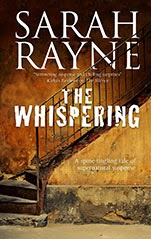 The Whispering by Sarah Rayne book cover