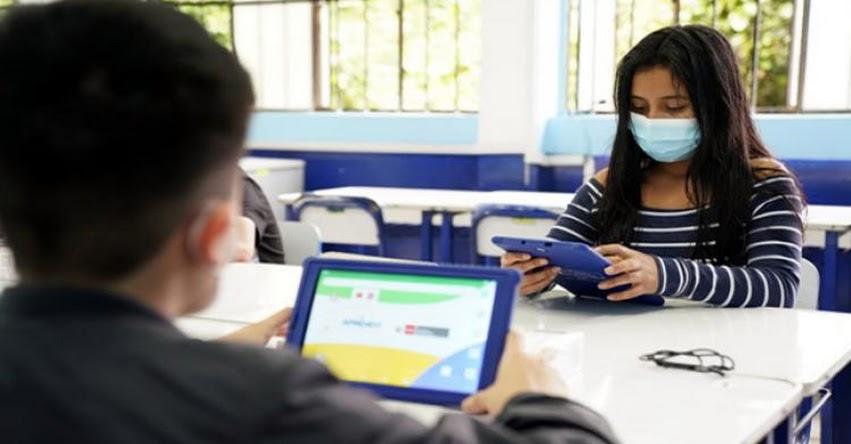 MINEDU: Ministro de Educación informó al Congreso sobre la entrega de tablets y lo nuevo de Aprendo en Casa