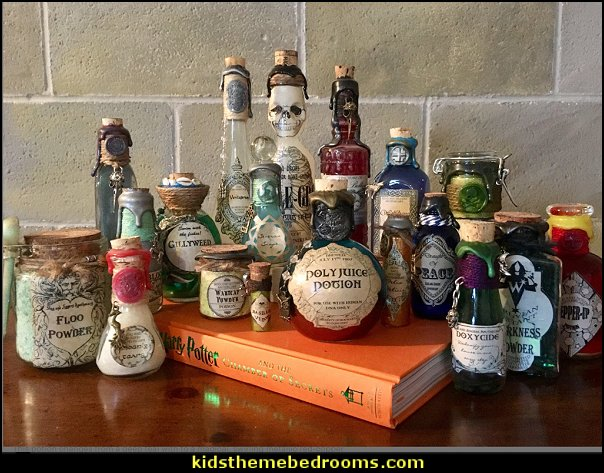 Polyjuice Potion, A Color Change Harry Potter Potion Bottle Decoration