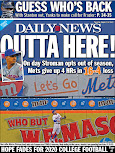 Stroman lifts Mets to back page