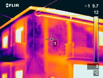 indagine termografica-edificio-temperatura