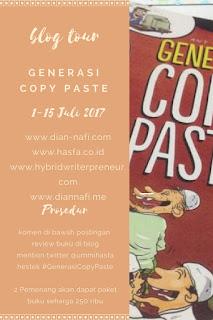 Blog Tour Generasi Copy Paste: MUHASABAH