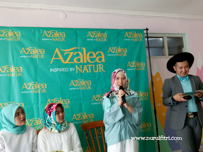azalea hijab shampoo with bandung hijab blogger