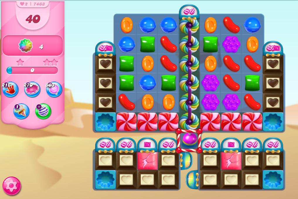 Candy Crush Saga level 7463