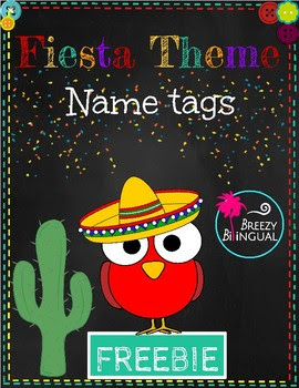 https://www.teacherspayteachers.com/Product/FiestaMexican-theme-name-tags-3251609