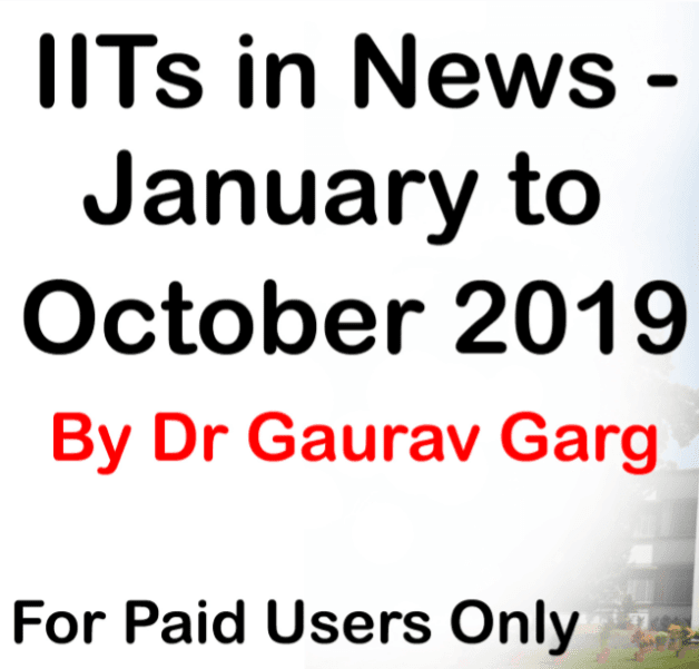 IITs-in-News--January-to-October-2019,-by-Dr.-Gaurav-Garg-For-All-Competitive-Exam-PDF-Book
