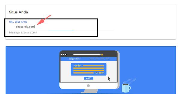 Cara Menambahkan Blog Baru (Tambah Situs) di Google AdSense