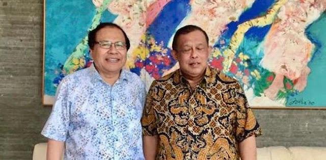 Permintaan Djoko Santoso Ke Rizal Ramli: Saya Hanya Ingin Lihat Indonesia Hebat Dan Makmur, Tolong Mas Ramli!