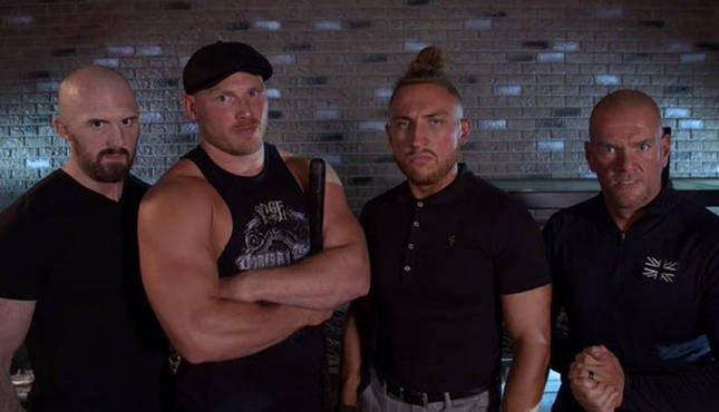 Pete Dunne e Ridge Holland se separam de Danny Burch e Oney Lorcan no WWE NXT