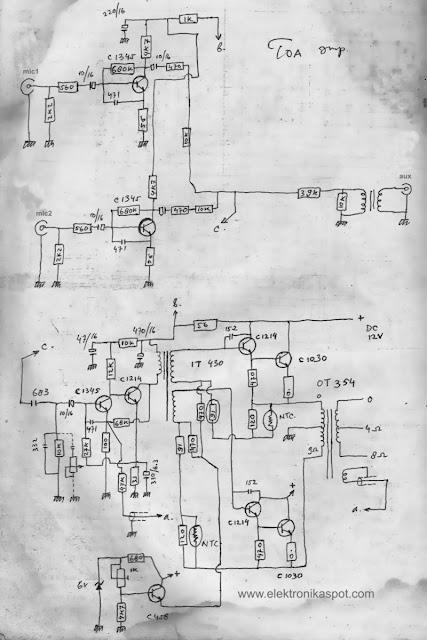 vintage_toa_mixer_amplifier