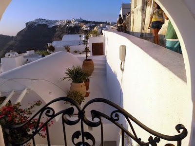 Santorini in The Greek Islands